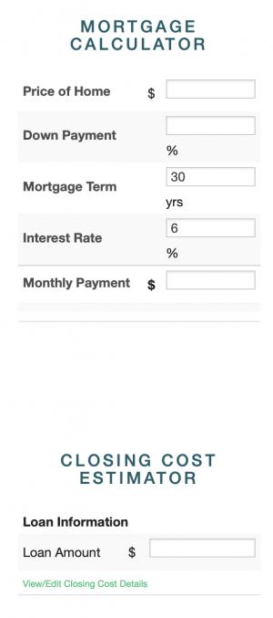 MortgageCal
